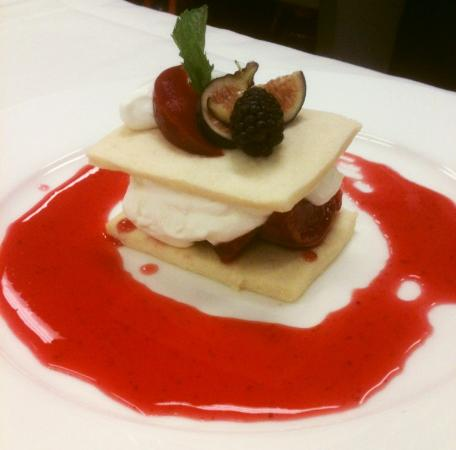 Sidney Willoughby Run : Another Chef Annis dessert creation