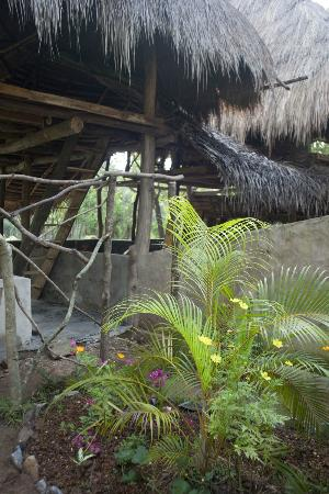 Kumbura Eco Lodge: Beautiful construction 