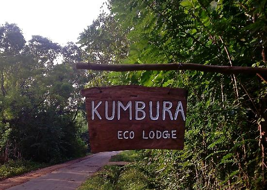 Kumbura Eco Lodge: The entrance
