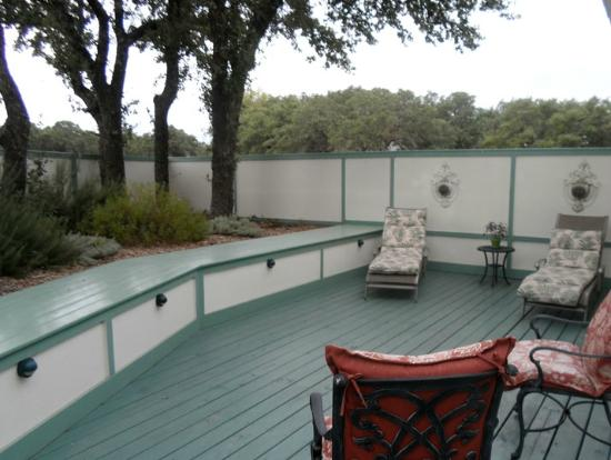 Rose Hill Manor: Private Deck