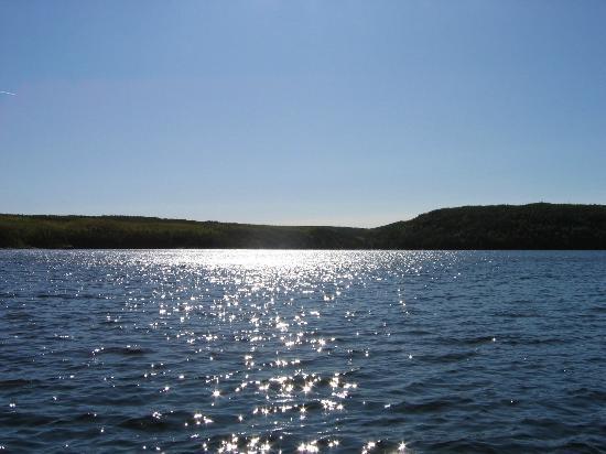 Big Canon Lake Lodge : A View of Big Canon
