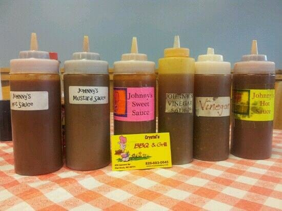 Crystal's BBQ and Grill : Crystals has the best sauce in town!
