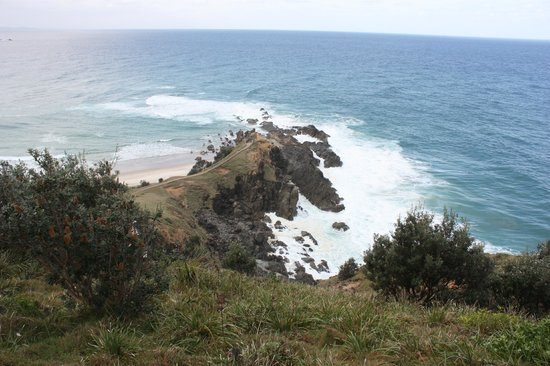 Byron Bay, Australia: Most easterly point from the lighthouse trail