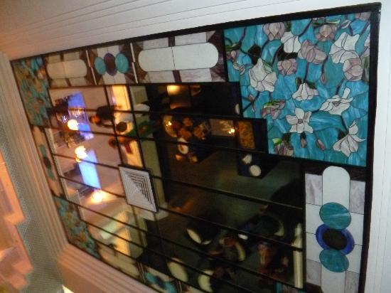 Club Iliade: Soffitto bar interno. 