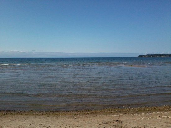 Crystal Beach, Kanada: Crystal clear water