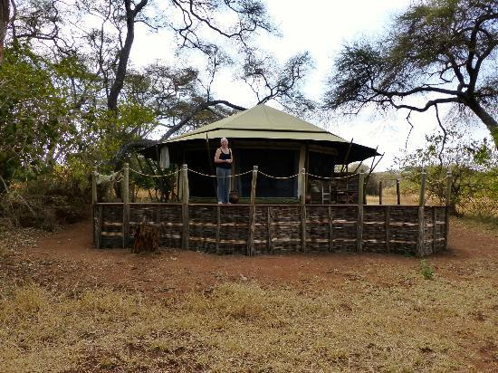 Sanctuary Swala : Our tent