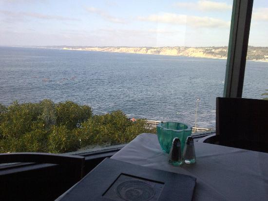 The Steakhouse at Azul La Jolla : View from table