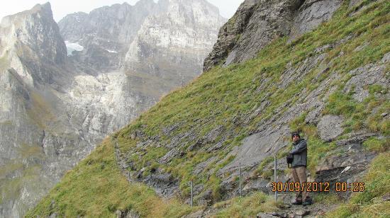 Berghaus Baregg: Trail beyond Baregg