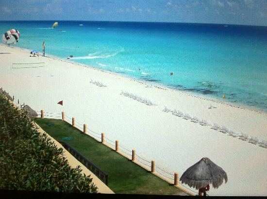 Fiesta Americana Condesa Cancun All Inclusive: vista desde nuestro cuarto