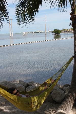 Ibis Bay Beach Resort: favorite reading spot