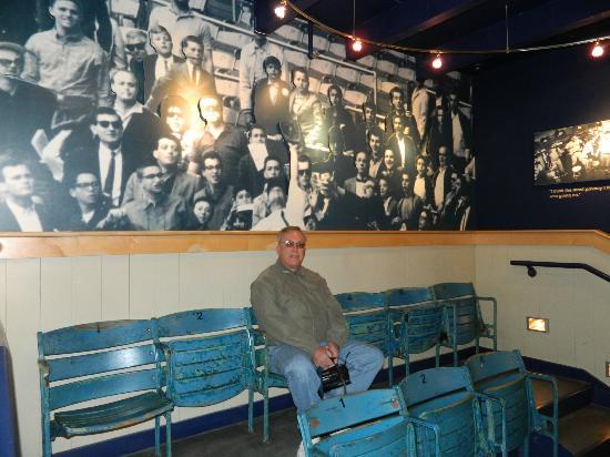 Roger Maris Museum: Yankee Stadium seats