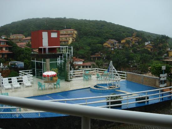 Coronado Inn: vista desde el balcon