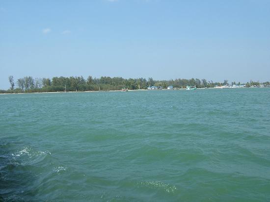the island view from ferry - Picture of Koh Kho Khao Island, Takua Pa - TripA...