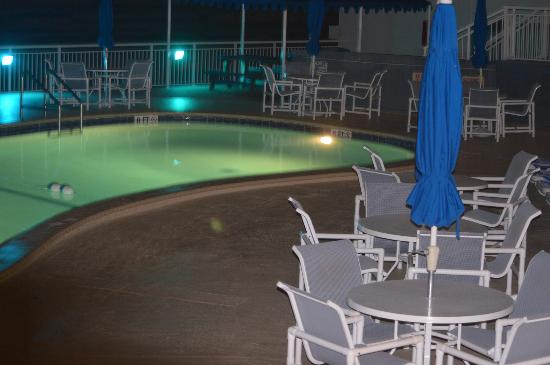 Sea Club IV: Night time Pool shot