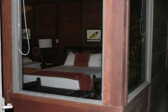 Chachagua Rainforest Eco Lodge: View of Room from outside