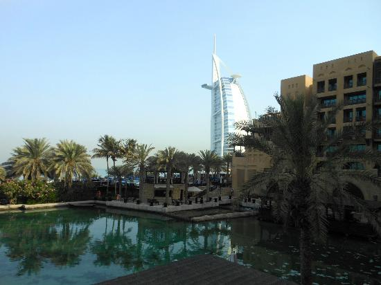 Jumeirah Mina A'Salam: View from outdoor patio