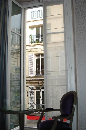 Hotel Arioso: Love the little balcony!