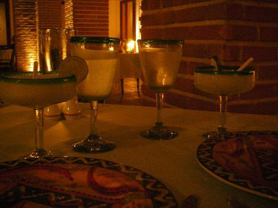 Excellence Playa Mujeres: margaritas!
