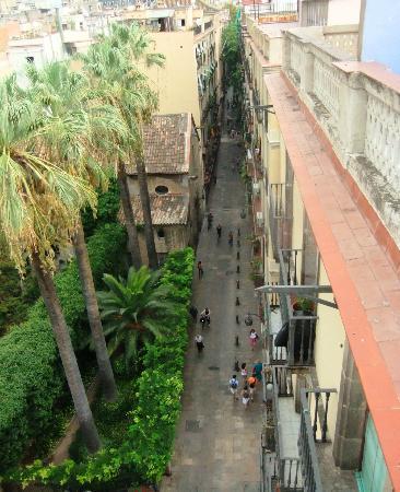 Casa Camper Hotel Barcelona: vista da rua