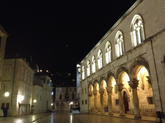 Rector's Palace at 4am