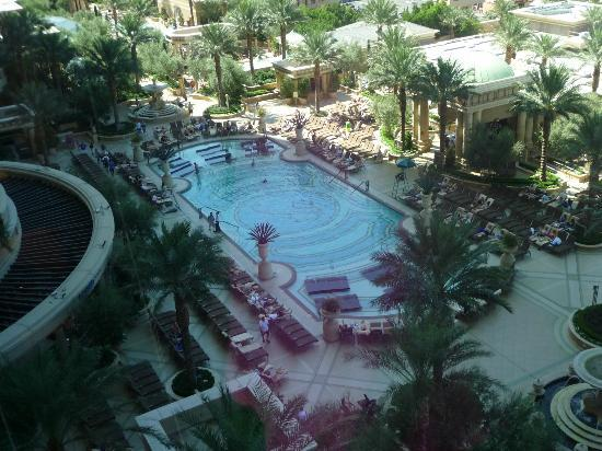 The Palazzo Resort Hotel Casino: View of the main pool