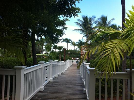 Hyatt Residence Club Key West, Beach House : entrance to beach and pool area