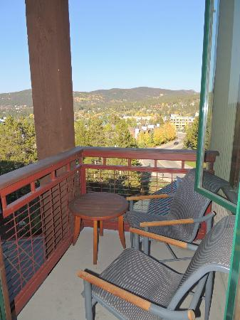 Valdoro Mountain Lodge: balcony