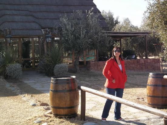 Chez Gaston Restaurant at Algodon Wine Estates: Una de las entradas del Resto