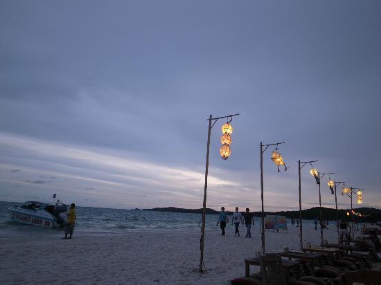 Samed Cabana Resort: 市中心比較熱鬧的地方