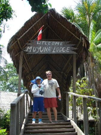 Muyuna Amazon Lodge: lodge entrance