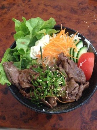zipangu : beef lunch