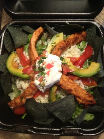 Rudy's Restaurant: Taco salad