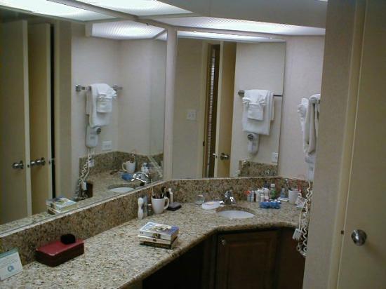 The Breakers Resort : My huge bathroom, granite counter, etc., etc.