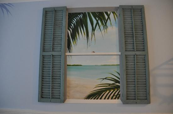 Ibis Bay Beach Resort : Mock window!