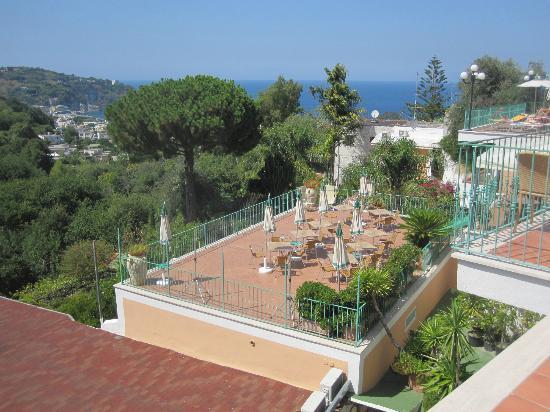 Hotel Terme La Pergola : View from hotel