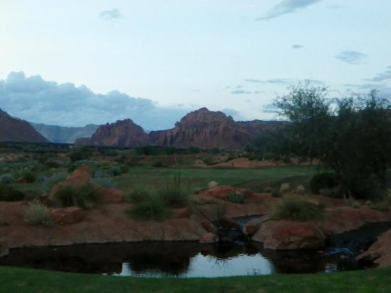 The Inn at Entrada: Farther view from our backyard of Casita