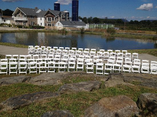 Chelsea Sun Inn: Beautiful spot for our ceremony