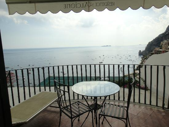 Residence Alcione: Private balcony with great views