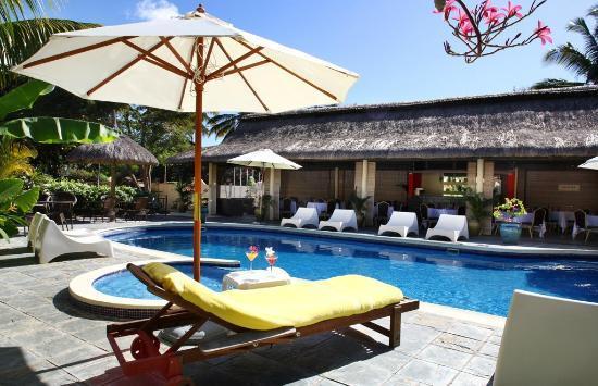 Le Samara Hotel & Spa : View of Restaurant and pool