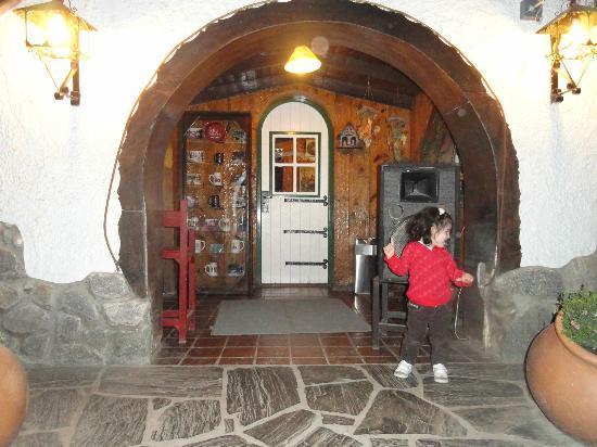 Blumen Haus: Puerta de ingreso