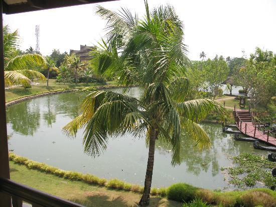 The Zuri Kumarakom: excellent view from balcony room
