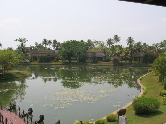 The Zuri Kumarakom: calm and amazing views