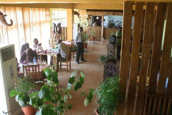 Nkoyo has a Spacious Dining area