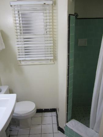 The Hotel California: Dated Small Bathroom