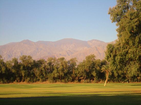 The Oasis at Death Valley (formerly Furnace Creek Resort): view from room