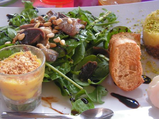 La Table de Florence : Assiette de pays