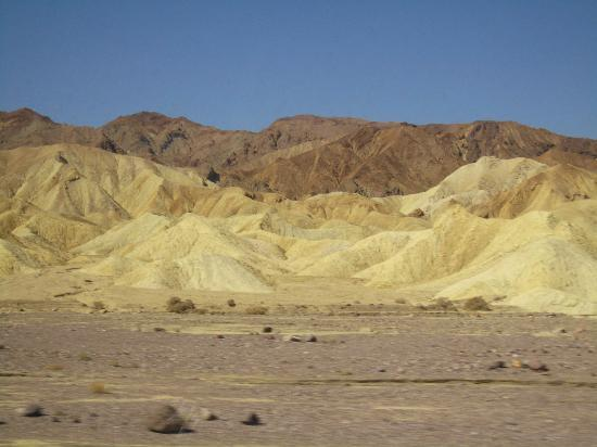 The Oasis at Death Valley: driving from resort to LA