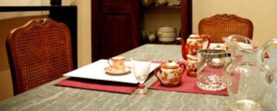 Al Villino Bruzza : sala colazione