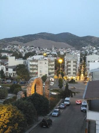 Hotel Bella: View from rooftop terrace