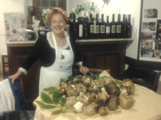 """Ristorante La Genovese: la proprietaria del ristorante """"La Genovese"""""""